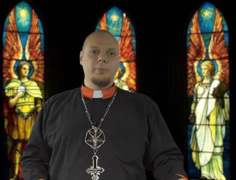 Reverend Dr robert Fraizes  occult tower tv show about Satanism and theoccult